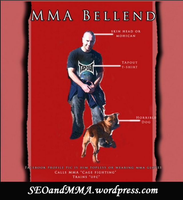 MMA bellend infographic