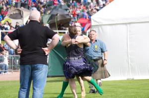 Cowal Highland Games Wrestling