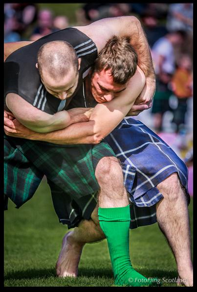 Highland wrestling
