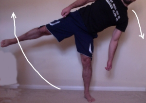 side single leg deadlift