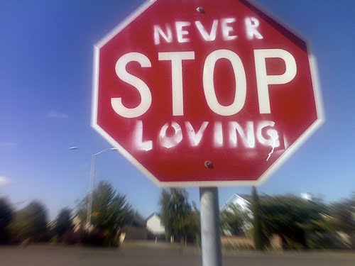 neverstoploving