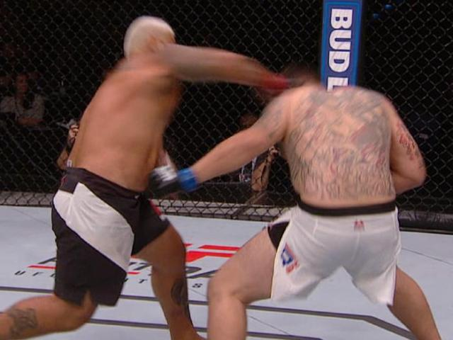 Mark Hunt KO Frank Mir - UFC Brisbane
