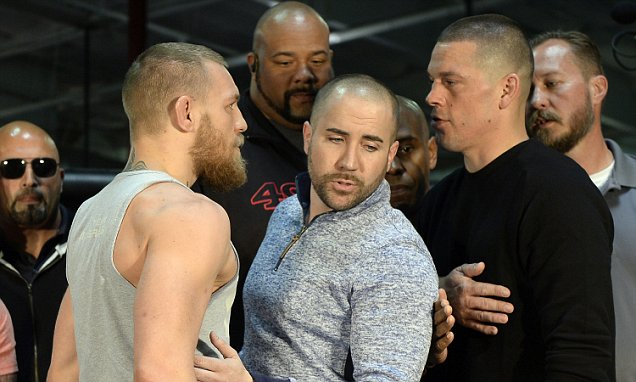 UFC 196 McGregor vs. Diaz Press Conference