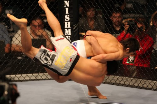 judo in mma overhook