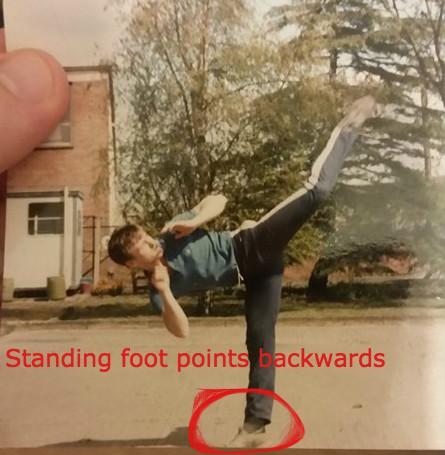Saul High Kick