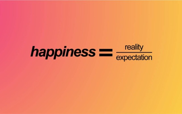 happiness and expectations