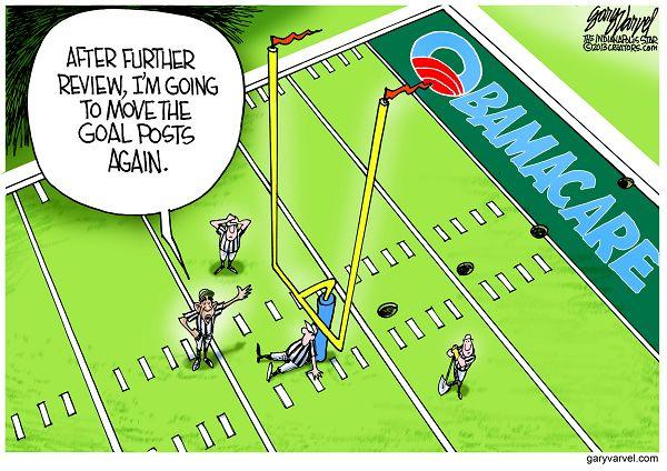 goalposts move
