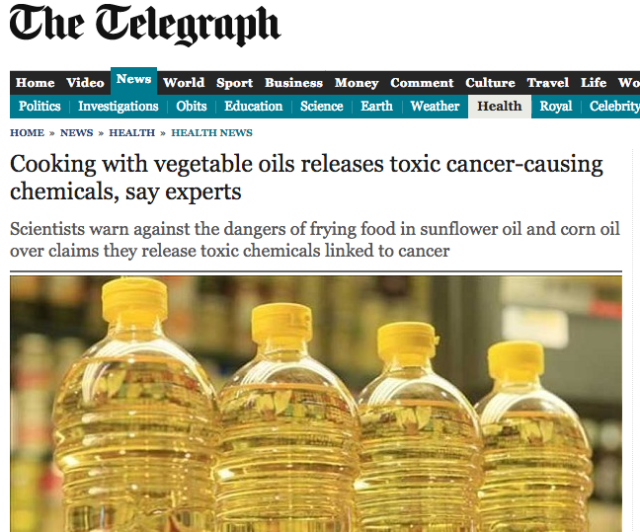 Screenshot_2018-08-25 Cooking with vegetable oils releases toxic cancer-causing chemicals, say experts