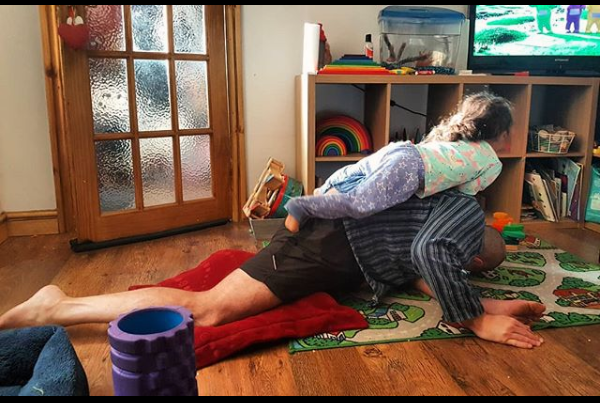 dad yoga