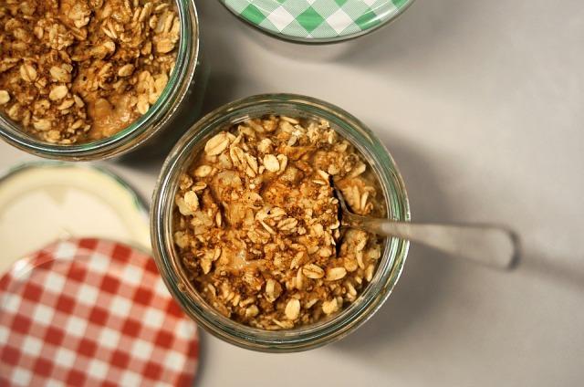 overnight oats raw vegan