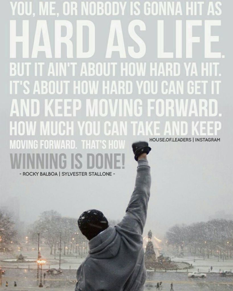 rocky - thats how winning is done